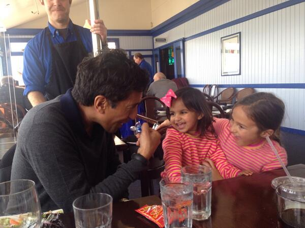 @NextGupta having a ball with her cousins and uncle @drsanjaygupta http://t.co/p7FF8n4d1m