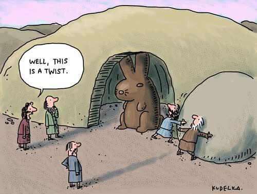 RT @ThePoke: Brilliant Easter cartoon http://t.co/4MXVyc2ZUX (by @jonkudelka via @mrbenjaminlaw)