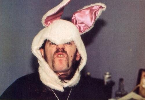 Have a SAFE & HAPPY Easter! I'll be celebrating by listening to @myMotorhead albums Easter is gonna RAWK!! http://t.co/RuUeFvucEy