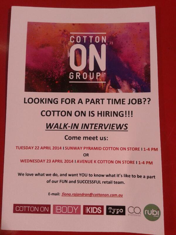 Siapa nak kerja? Meh retweet. http://t.co/djCLhTue5p