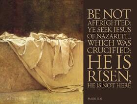 #HeIsRisen Mark 16:6   Have a great Easter !! http://t.co/R1JUsN10ad