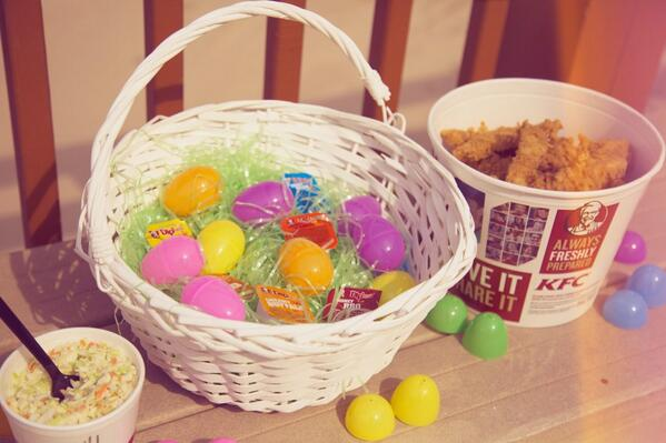 Kfc on twitter happy easter httpti9jadc6une kfc happy easter picitteraudqwhfgcscome to me please negle Images