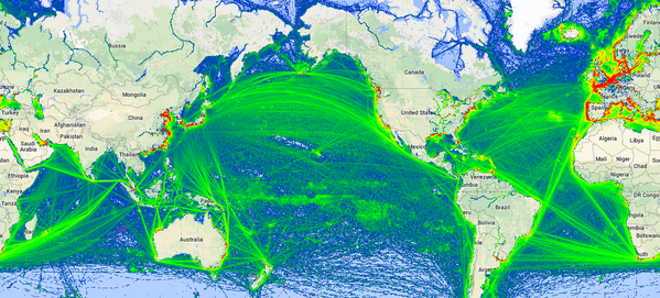 """MarineTraffic on Twitter: """"Curious about the global sea traffic? Check out our exclusive free offer! http://t.co/1rqYAdUrwd http://t.co/elMs4T33Ia"""""""