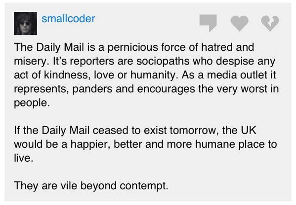 """@jamiesmart: Someone just summed the Daily Mail:  http://t.co/bV0nhLdtWy) http://t.co/HE3xKlv7HW"""