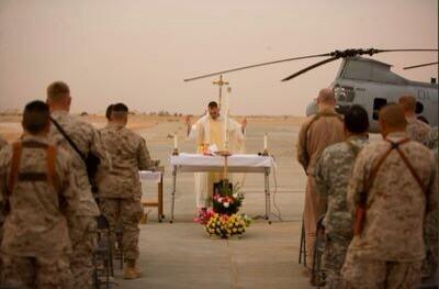 Happy Easter; remember those serving in Harm's Way. Photo via #MCAA http://t.co/jgheT54ZdI