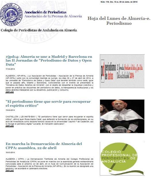 Thumbnail for Jornadas de Periodismo de Datos #JPD14 Almería