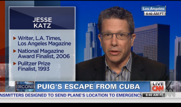Great seeing @byjessekatz on CNN talking @LA_mag Puig piece. More details in Q&A w/@msegal: http://t.co/DQV9cWw3Dq http://t.co/LLznolP1CU