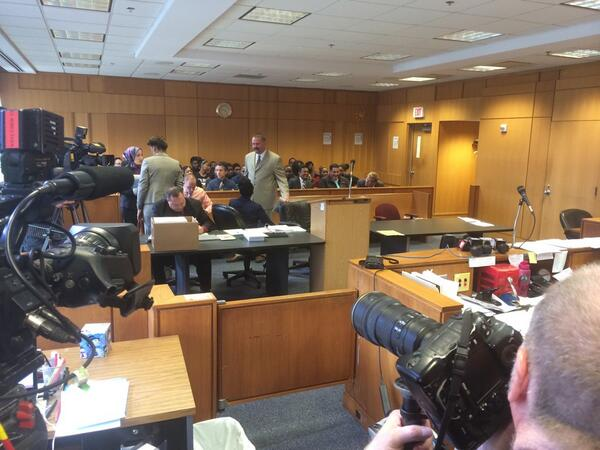 Full gallery, about a dozen news people here for hearing on 4 accused in Utash beating http://t.co/dTqxWwTDdX