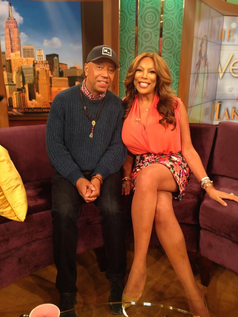 Just did @WendyWilliams Show #SuccessThruStillness http://t.co/l72vpPdMlP