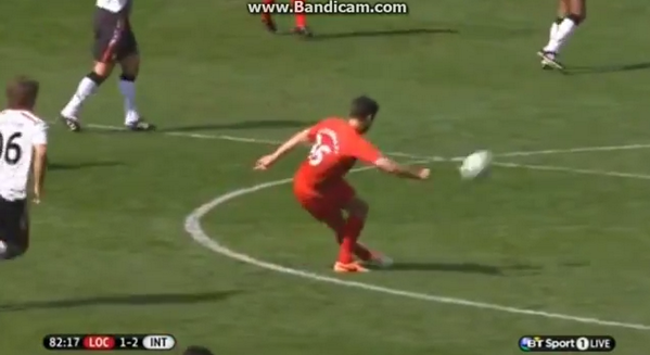 Skills! Jamie Redknapp plays stunning 40 metre Rabona pass in Liverpool charity match [Video]
