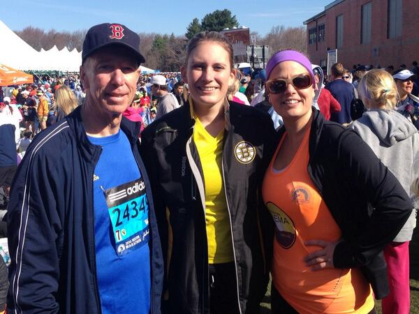 Rep. Lynch with @RepSinema and @maldridge86 at Athletes Village getting ready to run #BostonMarathon #BostonStrong http://t.co/woxVoMvcrp
