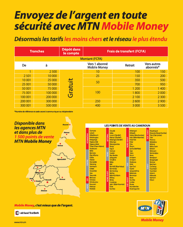 mtn cameroon on twitter en transfert d 39 argent mtnmobilemoney a les meilleurs tarifs et le. Black Bedroom Furniture Sets. Home Design Ideas