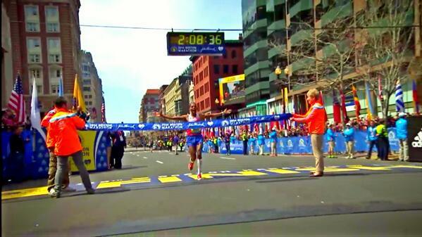 Congrats @runmeb the 1st American since 1983 to win #BostonMarathon 2:08:36 http://t.co/RjcMj6uoIJ