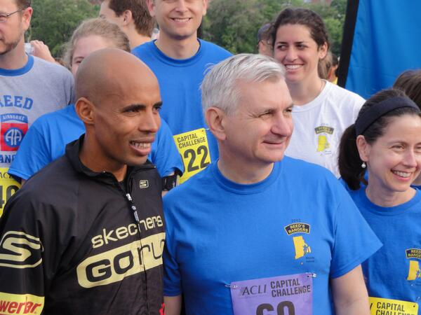 Congrats to my old running buddy @runmeb for winning the #BostonMarathon! (here we are at '12 ACLI Capitol Challenge) http://t.co/4FtuUQifSn