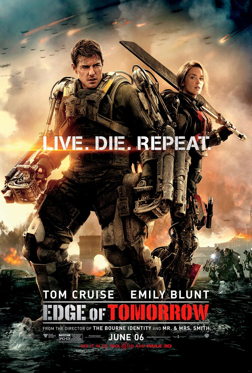 Twitter / EdgeofTomorrow: Exclusive new poster for ...