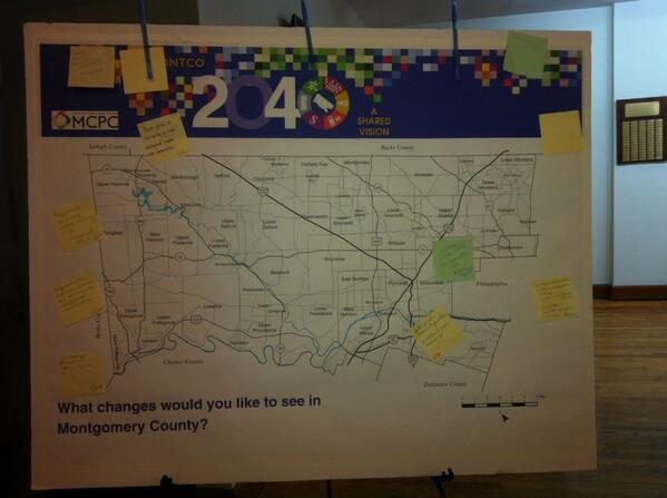 What changes would you like to see in Montco? Come to 380 Walnut St. In Pottstown right now and let them hear you. http://t.co/KLdvsCR9Nc