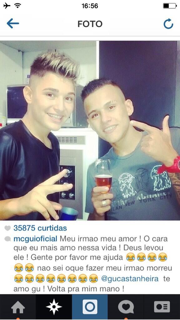Resultado de imagem para mc gui irmao instagram