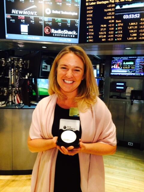 Our CEO Kristin at the #NYSEBELL closing. #momonamission http://t.co/1tOim767Qj #NYSE #ImpactInvesting #impinv http://t.co/1h80yARTdx