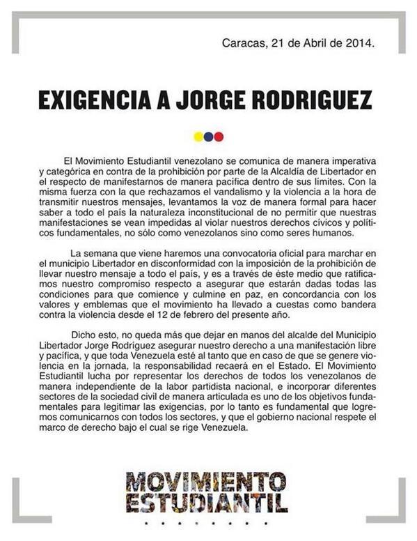 #ResistenciaVzla - Magazine cover