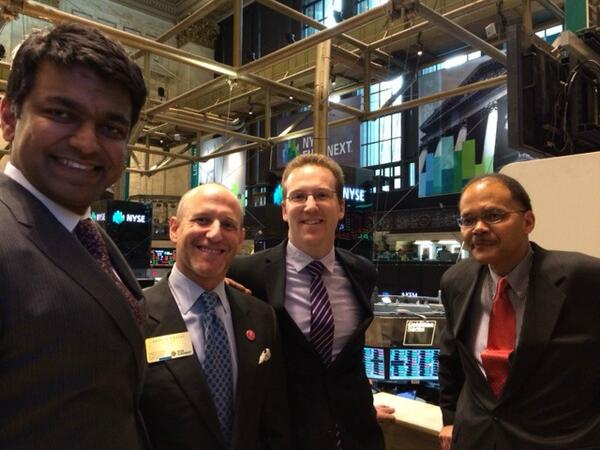 .@ZiaKhanNYC on the podium after ringing the @NYSEEuronext bell w/ @AKassoy, @ABLImpact, and Luther Ragin. #ImpInv http://t.co/bKSTZkUiUo