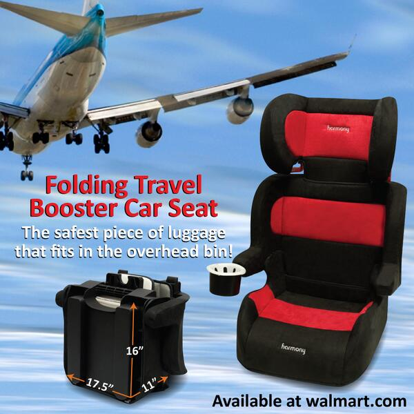 Harmony Juvenile On Twitter The Folding Travel Booster Car Seat Available At Tco FaeSjJ1uGx AeLClt2EhI