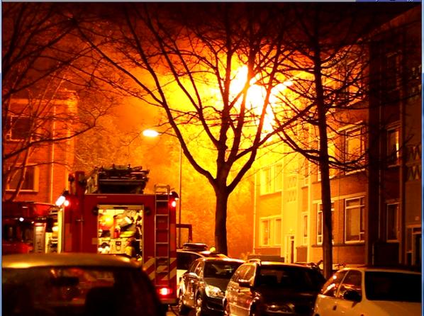 11 gewonden bij Grip 1 brand Schipborgstraat