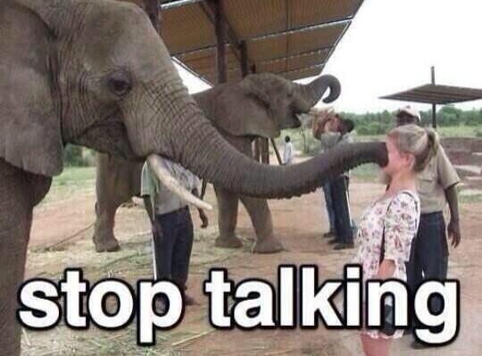 what to do when someone talks too much