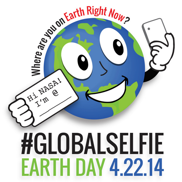 Ready for your close up? Join our #EarthDay #GlobalSelfie. Take a pic & share w/ us. More:http://t.co/WRuQliN4gc http://t.co/qbMaCfqa4s