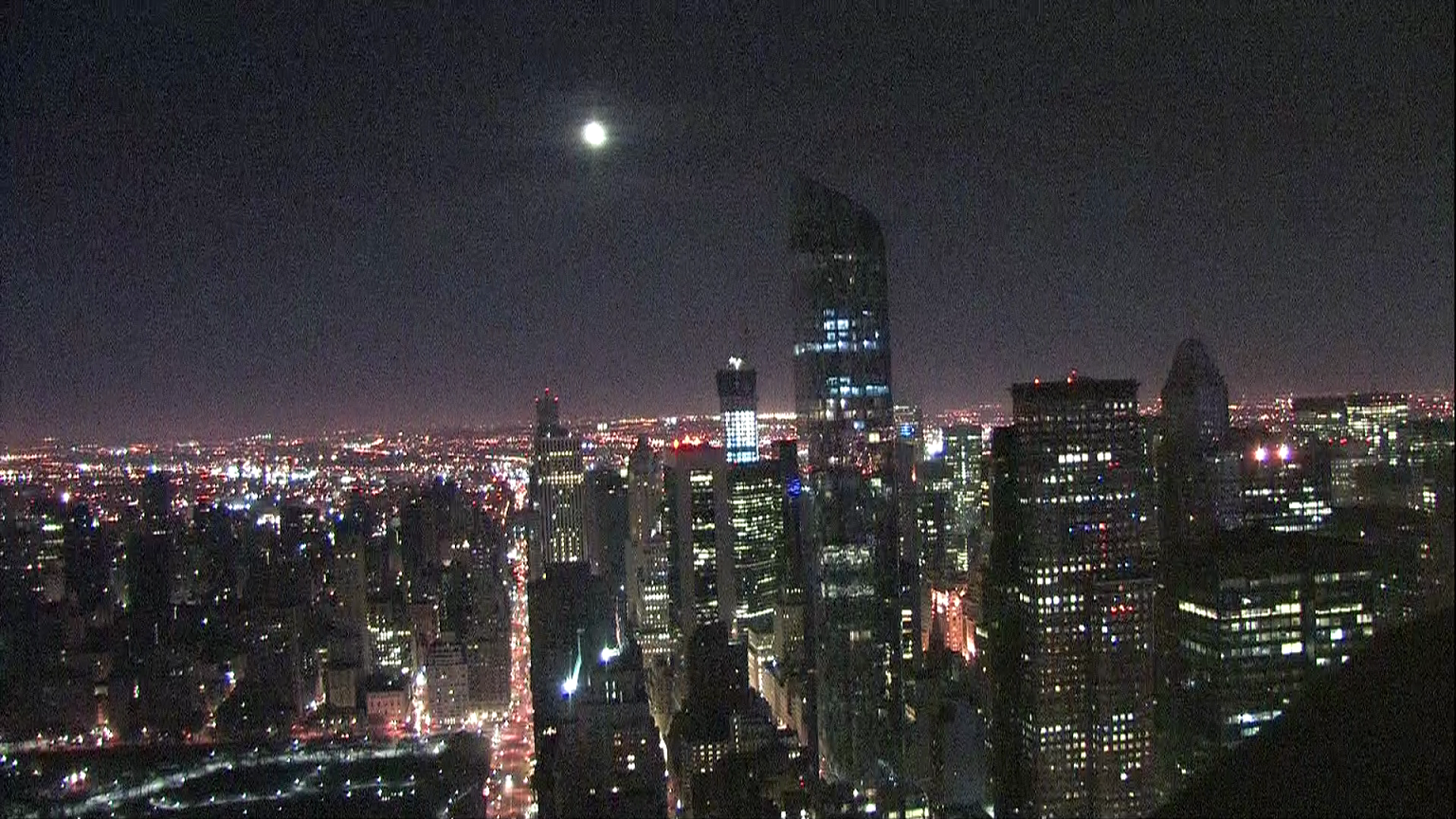Twitter / ChrisCuomo: Happy #NewDay with the moon ...