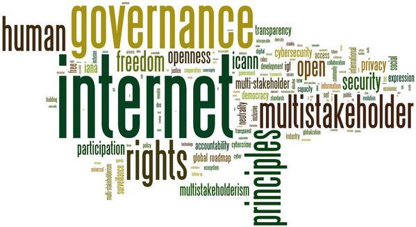 La tag cloud di #netmundial2014 l'Internet governance conference @netmundial2014 23-24 aprile a San Paolo, Brasile http://t.co/7PH83w40Ik
