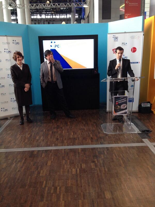 Inauguration EPICS #ESPCI @ESPCI_ParisTech @EPICS_espci<br>http://pic.twitter.com/DAx6tuFOb4