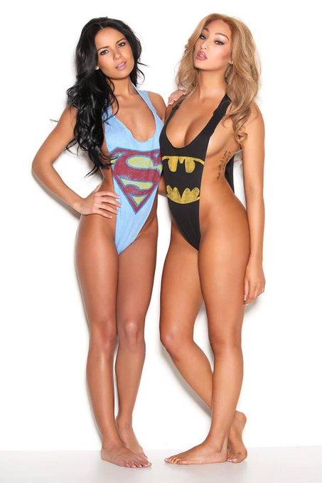 SEXY SUPERHEROS!!!! :) #superman #batman  Photo By: George Mario Hairstylist: Jeton Mullaliu http://t