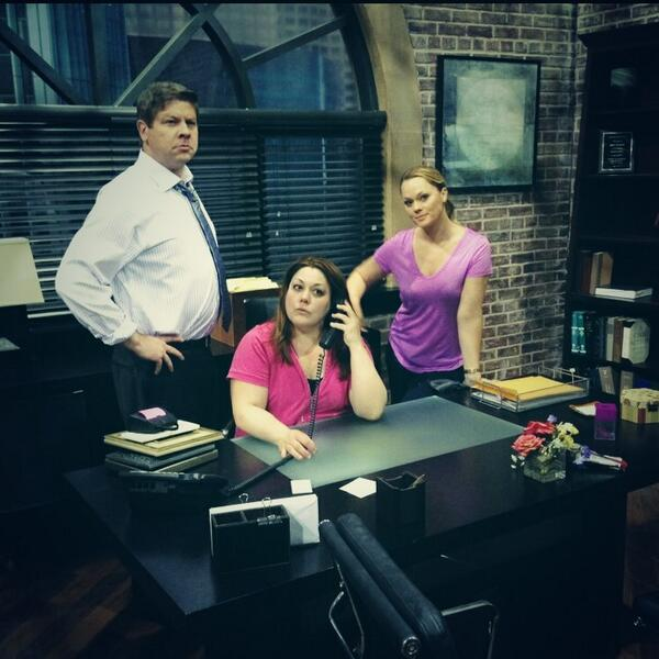 Saying goodbye to Jane Bingham's office with @real_brooke and @lexmedlin #bittersweet http://t.co/OizddFnQla