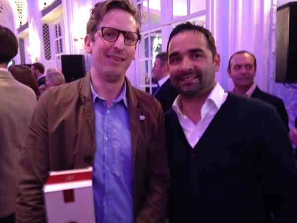 We'll done @borthwickneil and team @merchantstavern  just won Tatler Best Uk Kitchen award brilliant !!! http://t.co/ubOjuHNi93