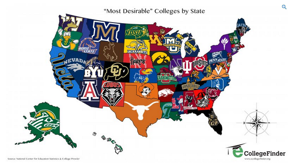 #okstate RT @SBNationCFB: The most-applied-to college for each state. RT @MattSBN:  http://t.co/t86hqAE8qw http://t.co/AhK2CdEWth