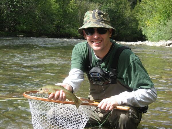 Christopher g brown on twitter thenewflyfisher me fly for Telluride fly fishing