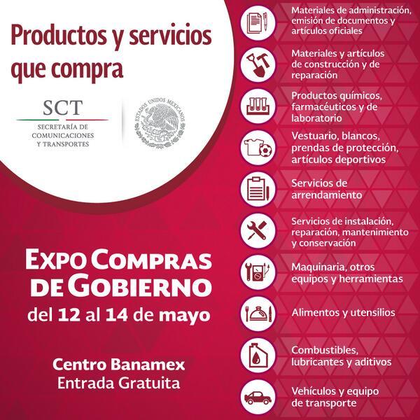 Conoce los 10 principales productos y servicios que compra la @SCT_mx http://t.co/9urWmwMF0f http://t.co/3GqLAF8yee