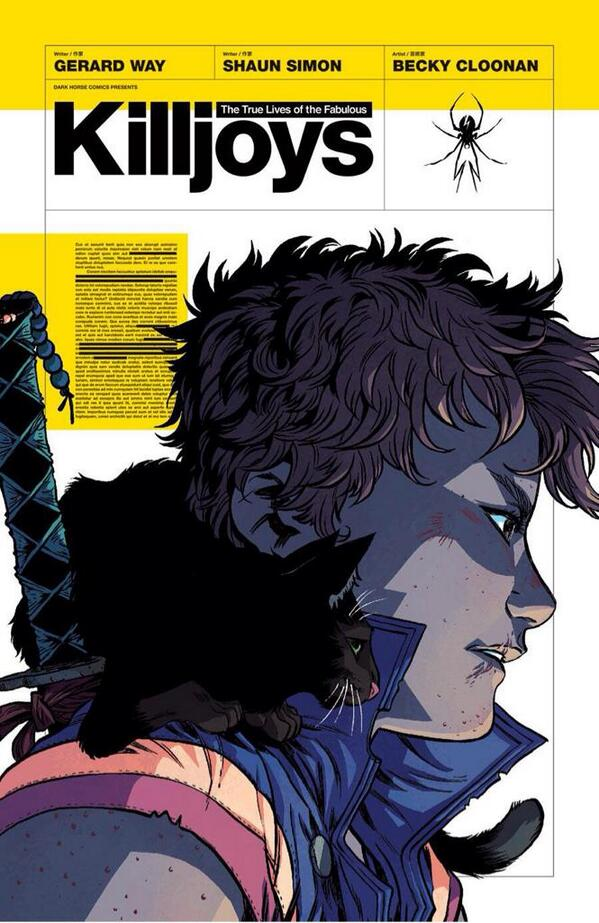 GUESS WHAT IS OUT TOMORROW?!? IT'S KILLJOYS!! KIIILLLLJJOOOOYY-- *boom* http://t.co/bbc9WWh5vK