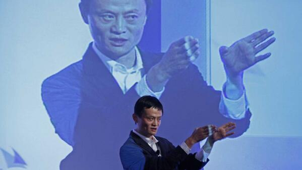 """Our founders started our company to champion small businesses,"" says Alibaba in its very large IPO filing http://t.co/l2rPMn3ZIU"