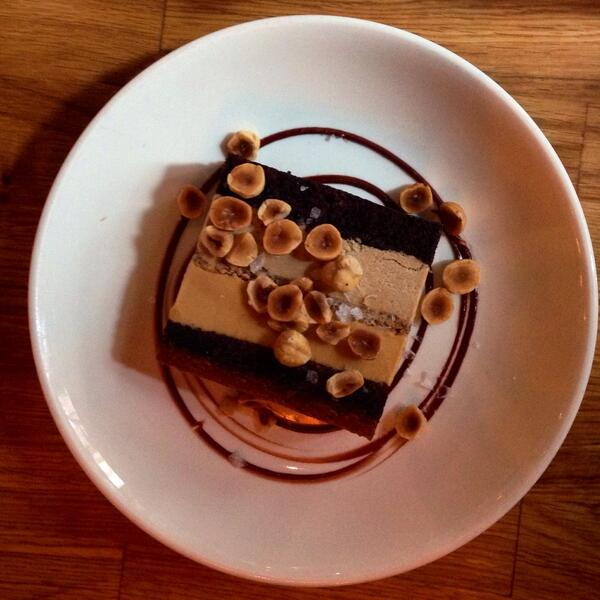 Made my day! Hazelnut ice cream cake at @LApicio in NYC. #brunch @foodandwine http://t.co/K4yWHOsslC