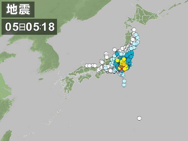 なんだこの広範囲な地震は・・・ http://t.co/J8WCN4x7xT