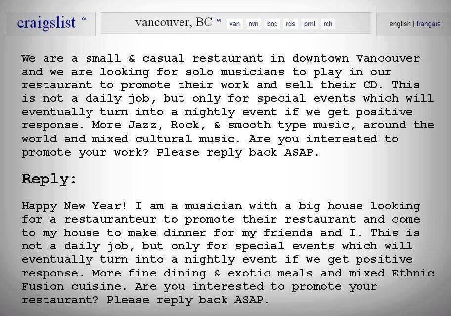 craigslist vancouver casual
