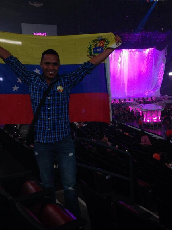 Venezuela presente en el #artRAVE http://t.co/rEZVINHglD