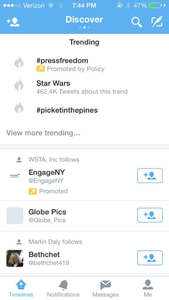 Love, love, love that #picketinthepines is still trending!! Traveling back to WNY reinvigorated!! http://t.co/yWWiU5QUbH