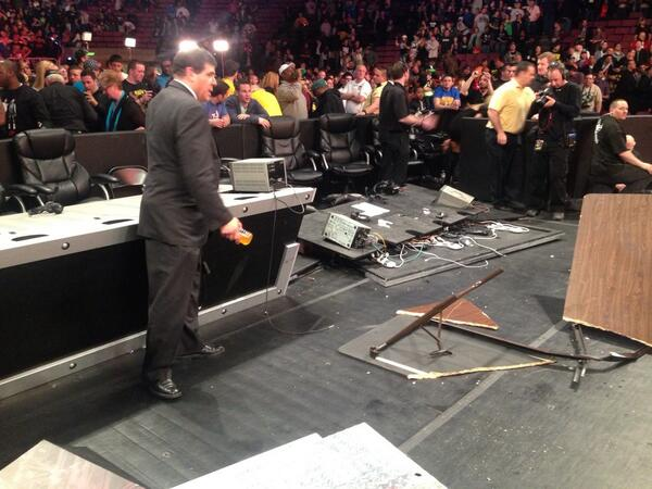 The Spanish Announce Table SURVIVES!! http://t.co/wpksfNwn60