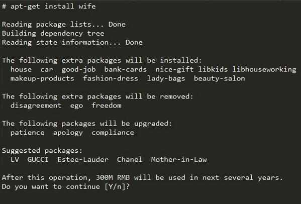 apt-get install wife http://t.co/3paaoZclcO