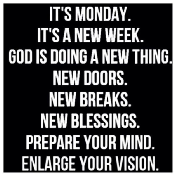 Inky johnson on twitter its monday its a new week god is doing inky johnson on twitter its monday its a new week god is doing a new thing new doors new breaks new blessings thecheapjerseys Gallery