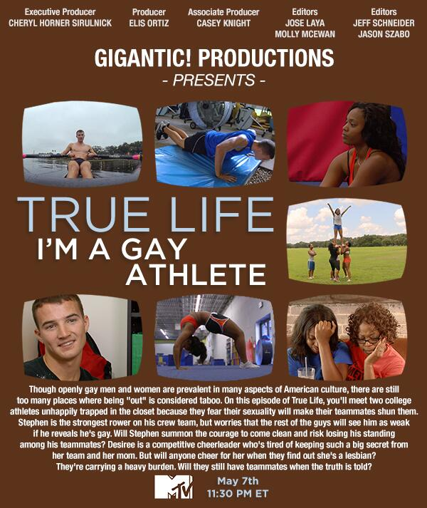 A gay athletes life