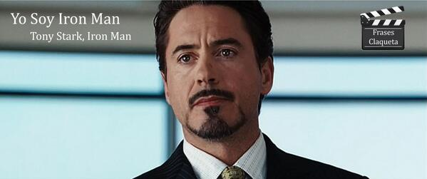 Frases Claqueta On Twitter Tony Stark Iron Man Httpt