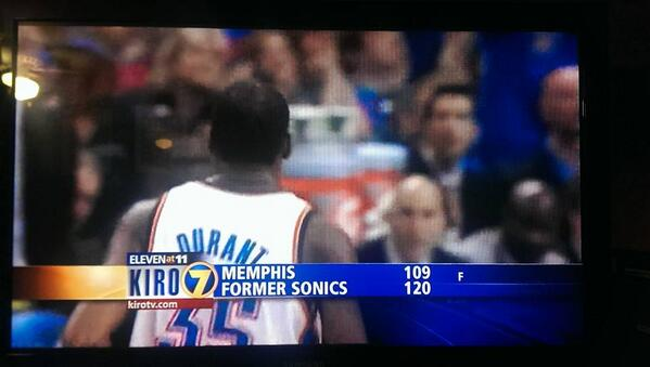 We'll never forget our #Sonics! Thanks to @Kiro7Seattle for keeping hope alive! #formersonics #Seattle http://t.co/5Lz3iC2AMO